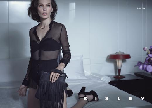 Весенне-летняя рекламная кампания Sisley с Милой Йовович