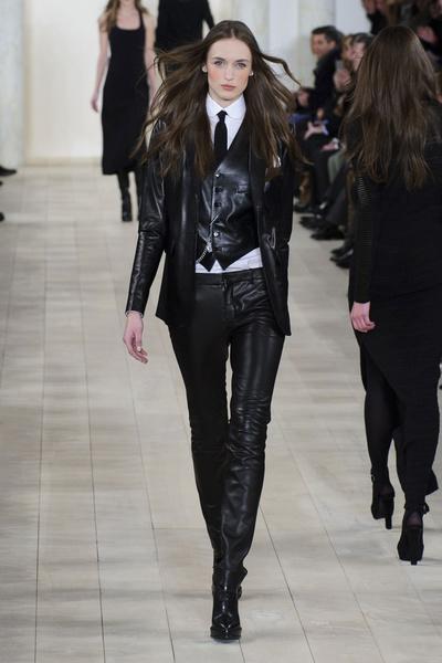 Показ Ralph Lauren на Неделе моды в Нью-Йорке | галерея [1] фото [14]