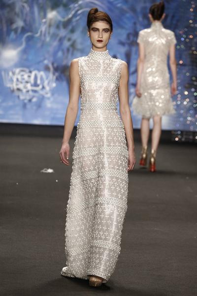 Самые роскошные вечерние платья Недели моды в Нью-Йорке | галерея [3] фото [1]