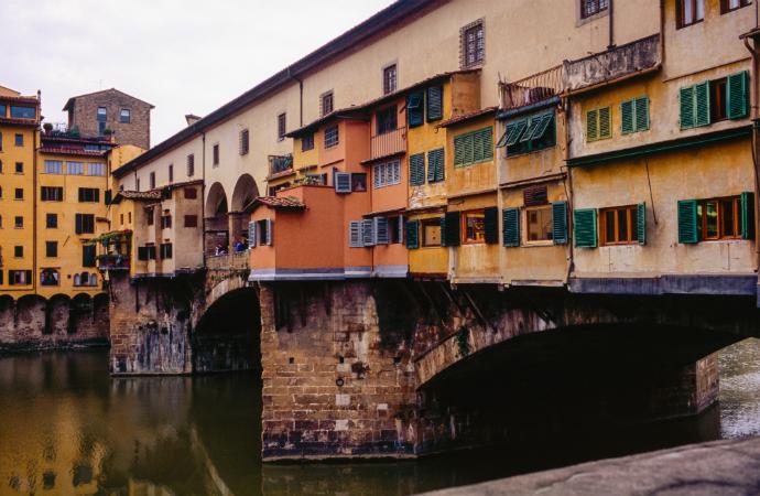 Понте-Веккьо, Флоренция красивые мосты мира фото