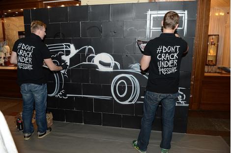 В ГУМе прошел коктейль в честь выставки Don't Crack Under Pressure бренда TAG Heuer