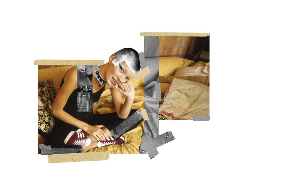 Кейт Мосс в кампании adidas Originals «Вспомни будущее»