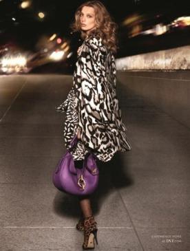 Diane Von Furstenberg представила новую рекламную кампанию с Дарьей Вербовой