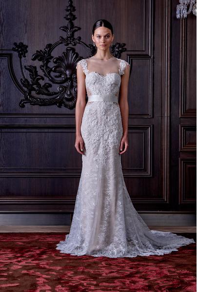 50 самых красивых платьев со Свадебной Недели Моды в Нью-Йорке | галерея [1] фото [27]