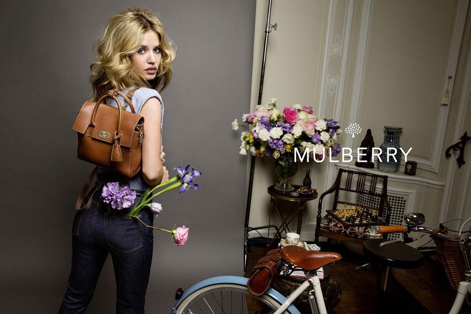 Модный кожаный рюкзак от Mulberry