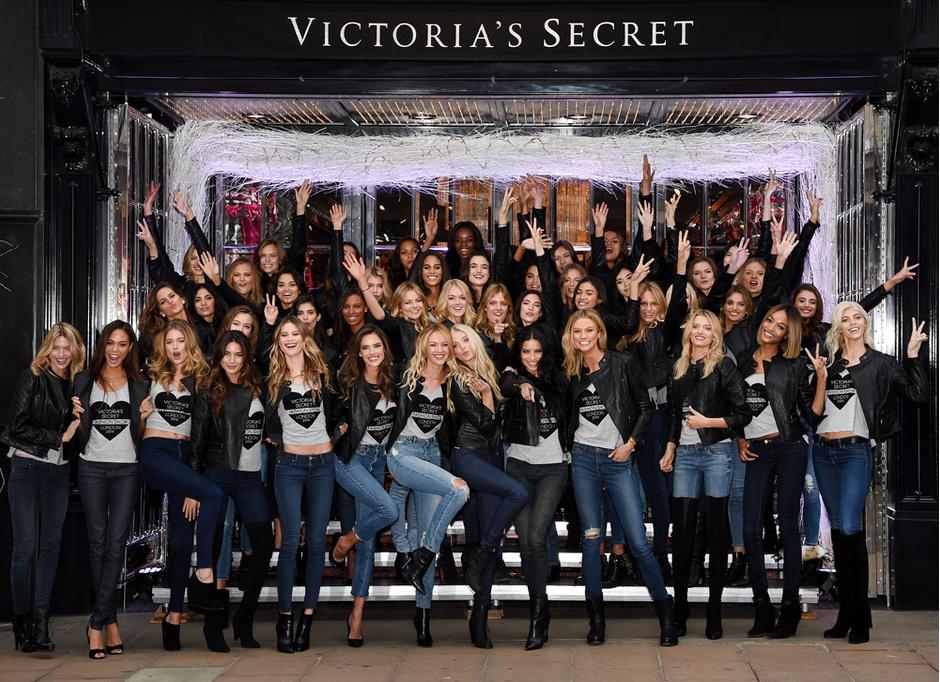 Участницы Victoria's Secret Fashon Show 2014