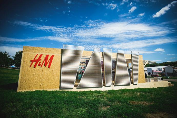 На Пикнике «Афиши» будет работать pop-up store H&M