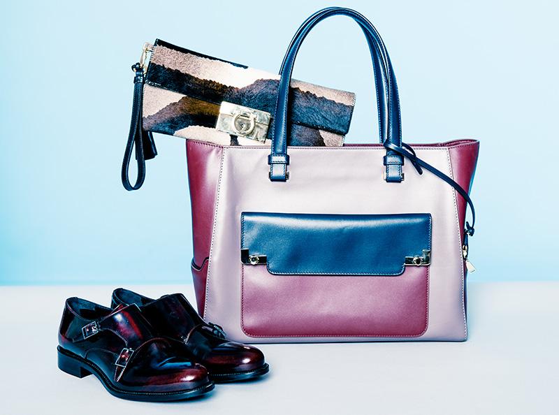 Клатч, Salvatore Ferragamo, 61 380 руб.; сумка, Lancel, 80 900 руб.; ботинки, Boss, цена по запросу
