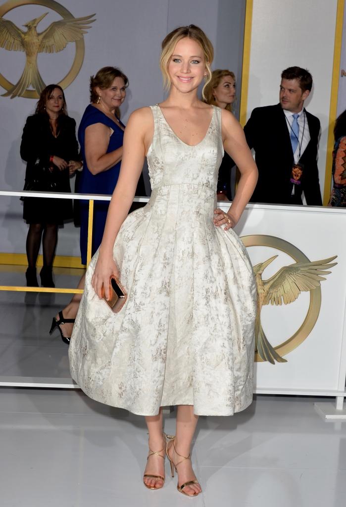 Дженнифер Лоуренс в Christian Dior Couture