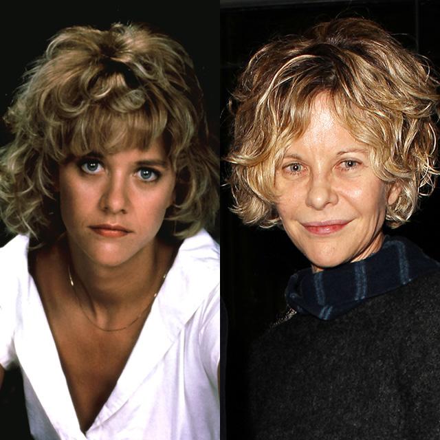 Мег Райан в 1988 и в 2014