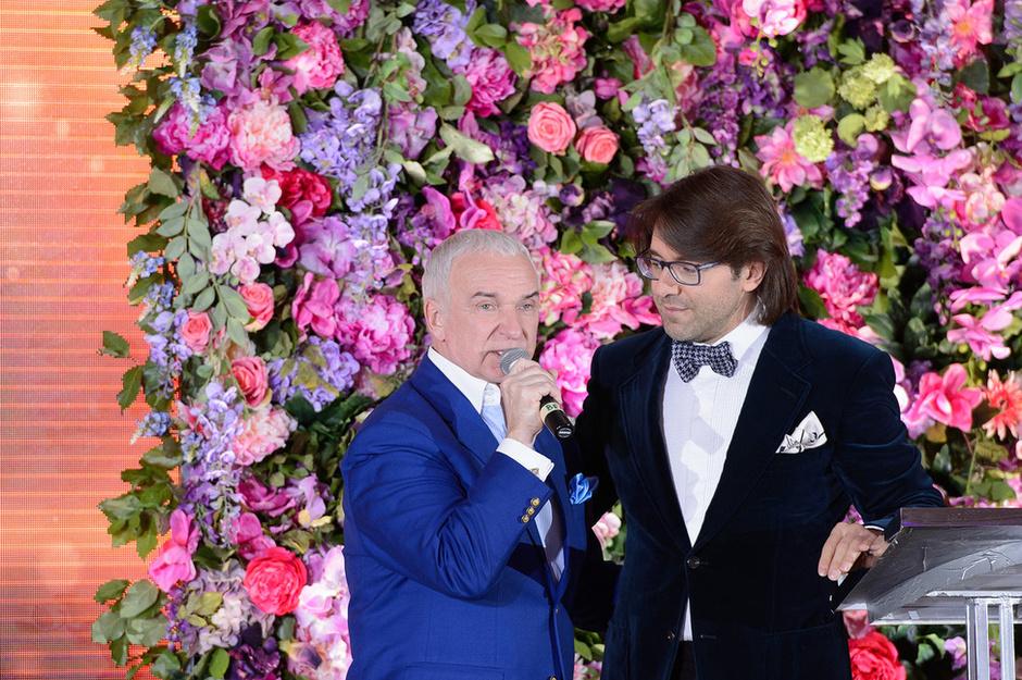 Станислав Попов(Президент Российского Танцевального Союза) и Андрей Малахов
