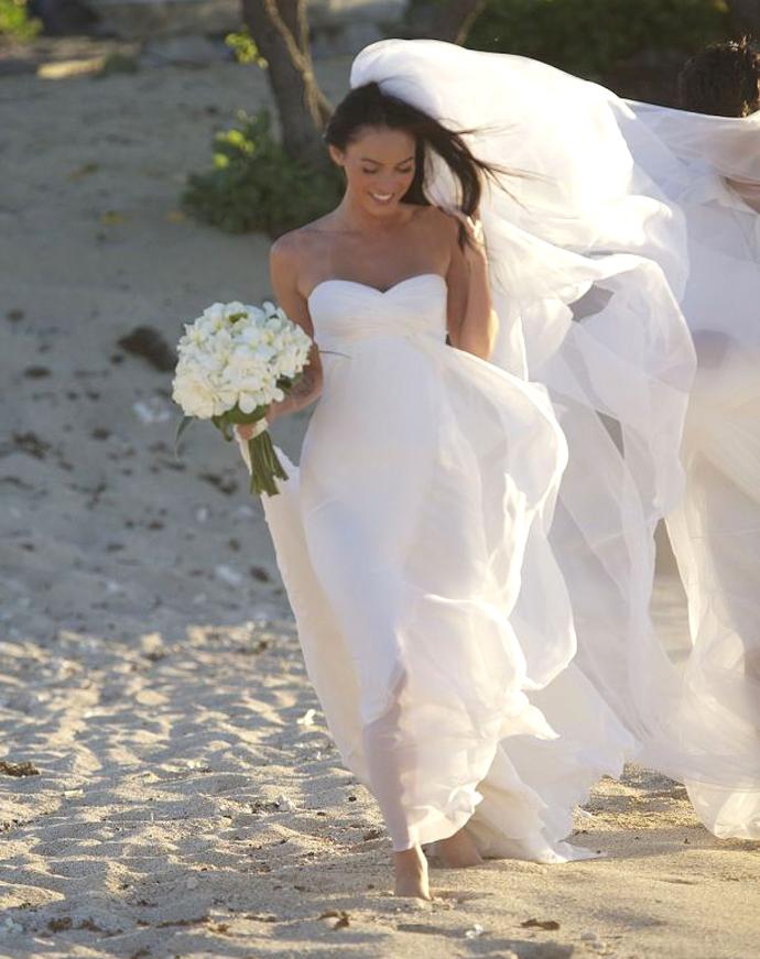 Меган Фокс, свадьба, 2010