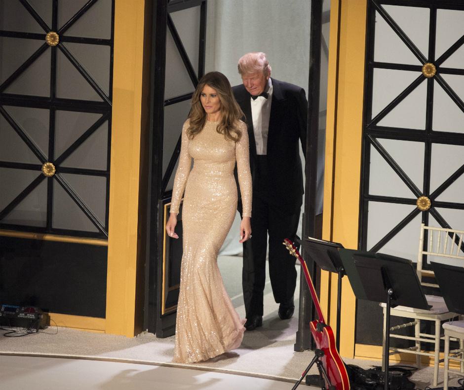 Меланья Трамп выбрала для инаугурации одежду отРальфа Лорена
