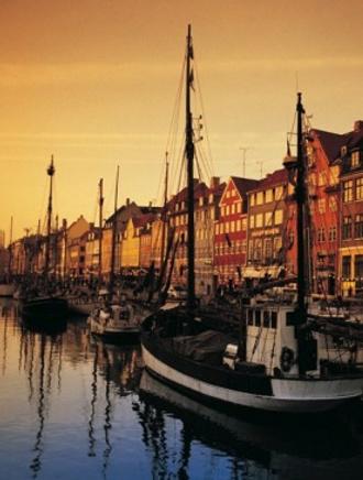 Гавань в Копенгагене