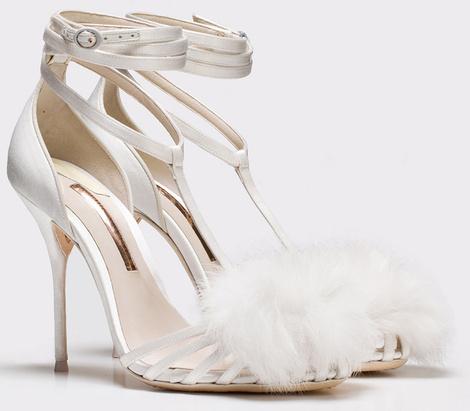 София Вебстер представила дебютную коллекцию свадебной обуви | галерея [2] фото [4]