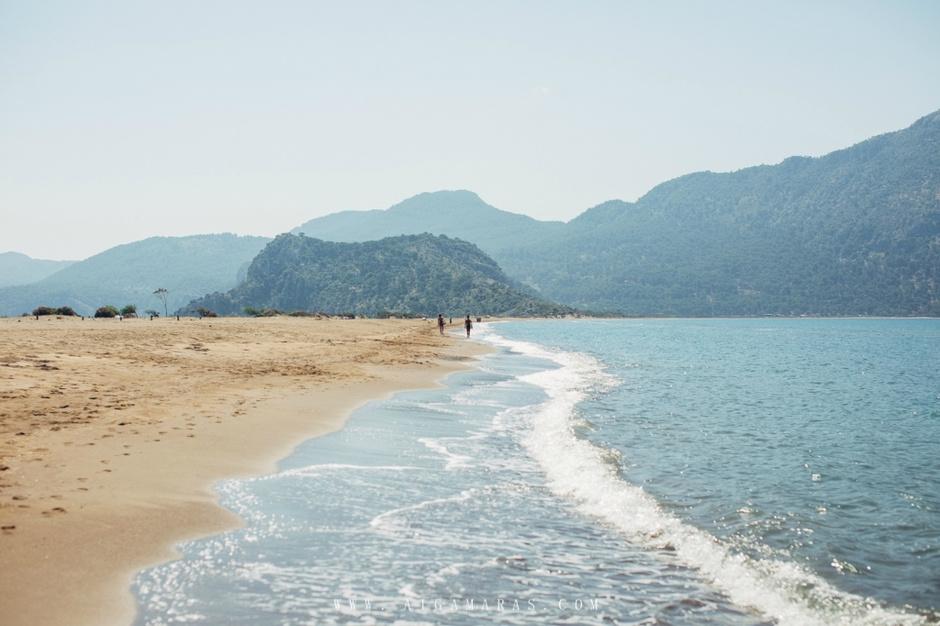5. Iztuzu Beach, Дальян, Турция