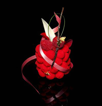 Десерт Je t`aime в кафе «Пушкинъ»