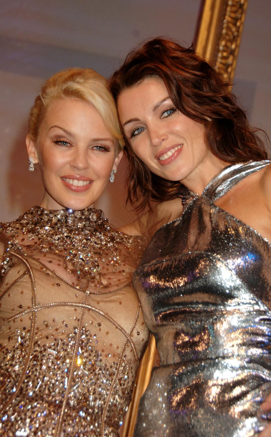 Кайли Миноуг и ее сестра Данни