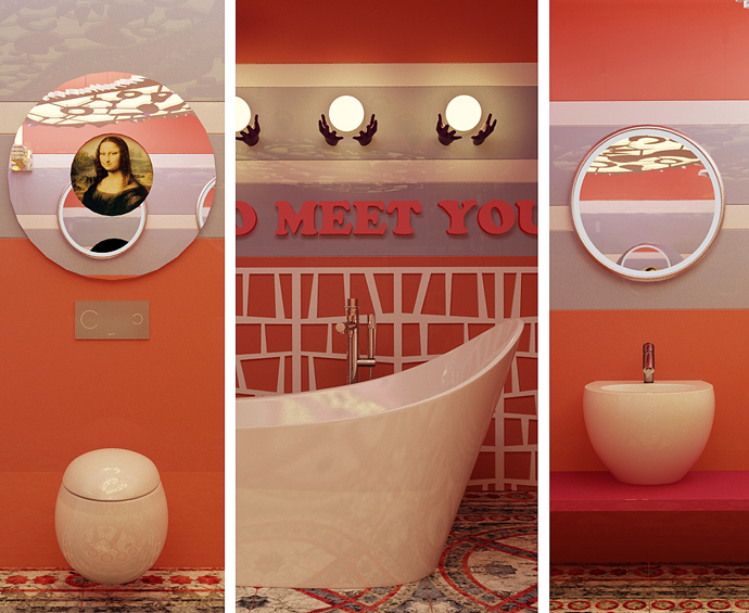 Laufen, конкурс, дизайн, сантехника, ванная комната, ELLE DECORATION