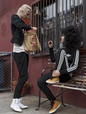 Осенне-зимняя коллекция adidas Originals Women