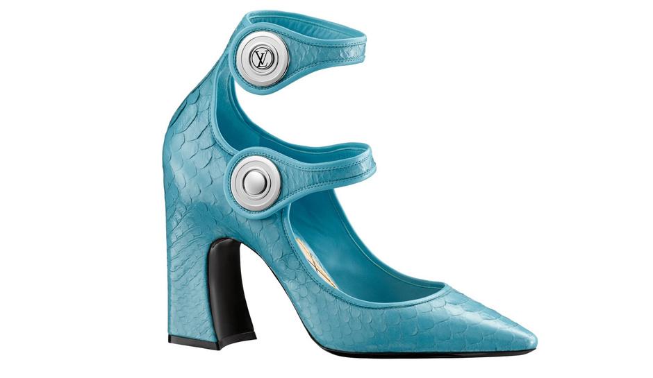 Открытие первого обувного магазина Louis Vuitton в Восточной Европе