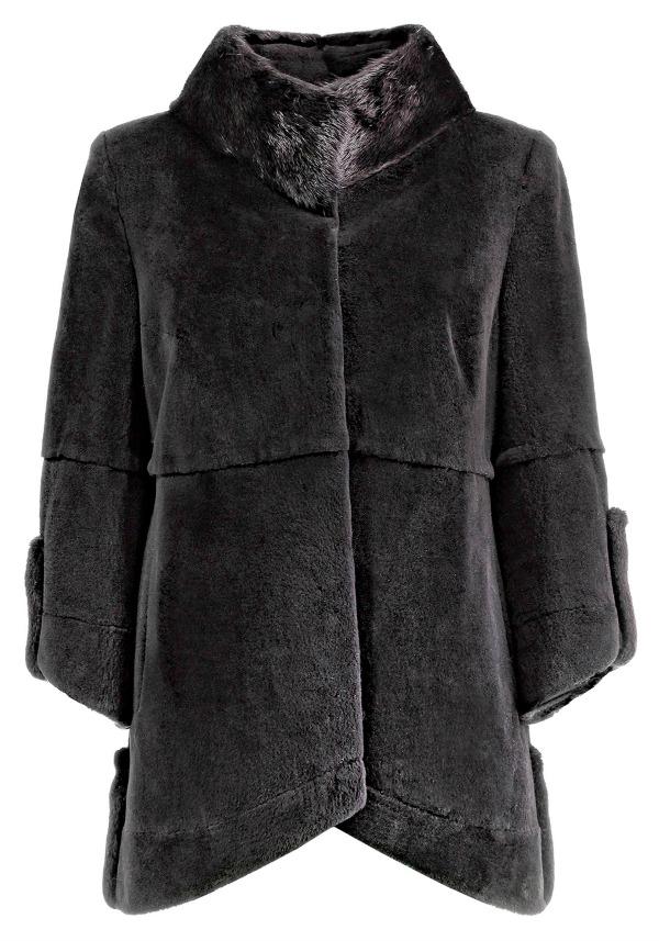меховое пальто finn flare
