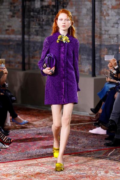 Дом Gucci представил новую круизную коллекцию 2016 | галерея [2] фото [40]