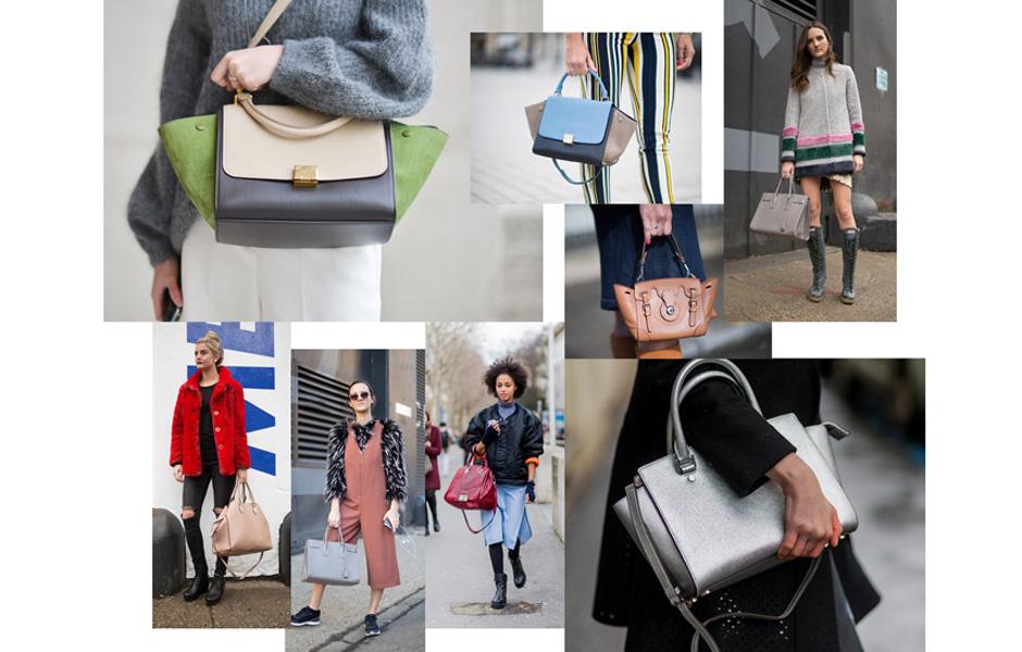 Модные сумки ss16