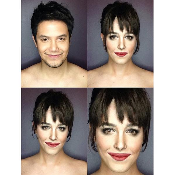 Филиппинский визажист перевоплотился в звезд с помощью макияжа | галерея [1] фото [16]