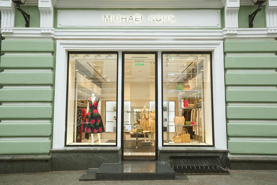В Москве открылся флагманский бутик Michael Kors