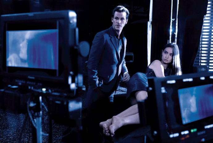 Съемки рекламного ролика Bleu de Chanel