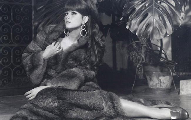 Клаудия Кардинале в рекламной кампании Fendi, 1967 год