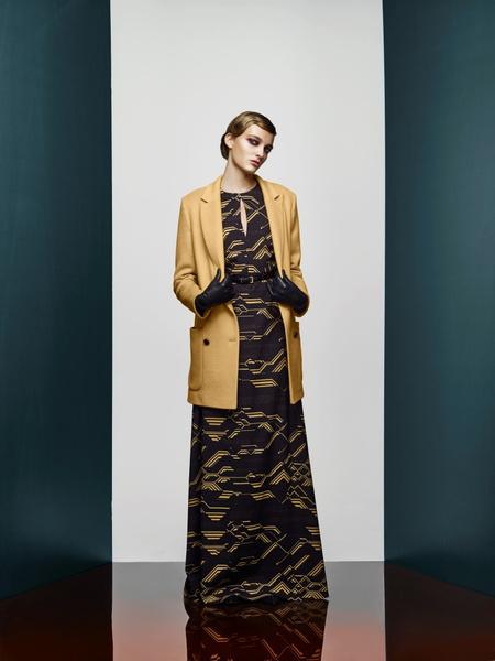 Хозяйка Медной горы: новая pre-fall коллекция A LA RUSSE Anastasia Romantsova | галерея [2] фото [26]