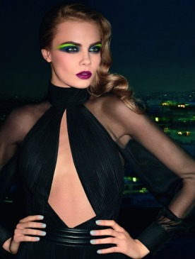 YSL представил осенне-зимнюю коллекцию макияжа Электрик-шик