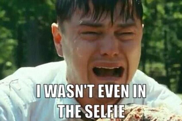 леонардо дикаприо оскар 2014 мемы selfie-снимок звезд селфи