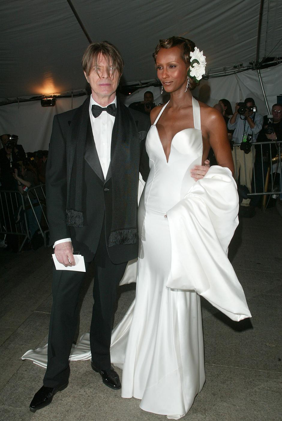 Дэвид Боуи и Иман, 2003 год
