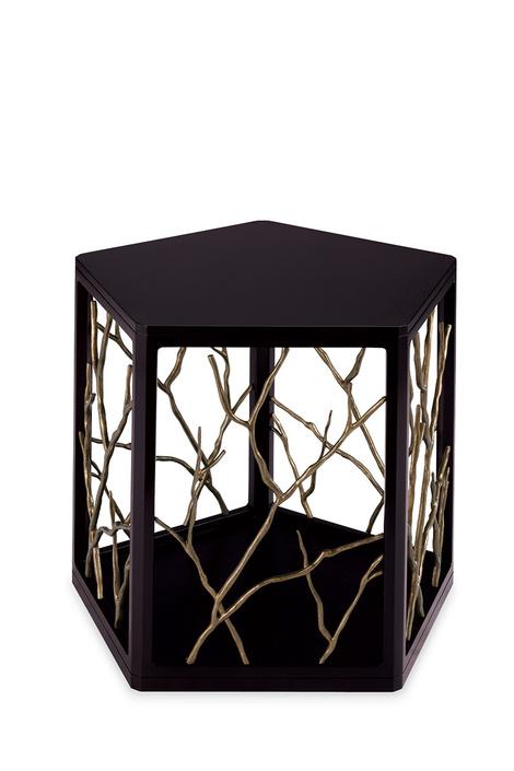 Столик Dorada, дизайн Лоры Кирар, Baker, шоу-румы BVS Interiors, «Интерьеры Экстра Класса», от 5918 у.е.