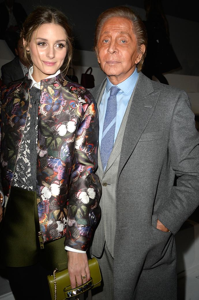 Оливия Палермо и Валентино Гаравани