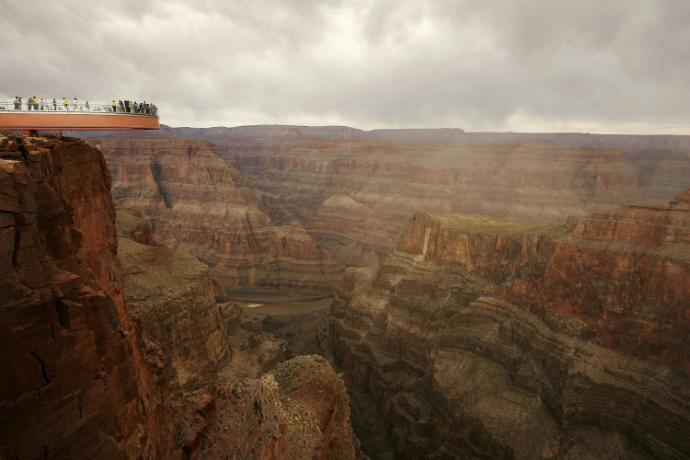 Grand Canyon Skywalk, Аризона, США