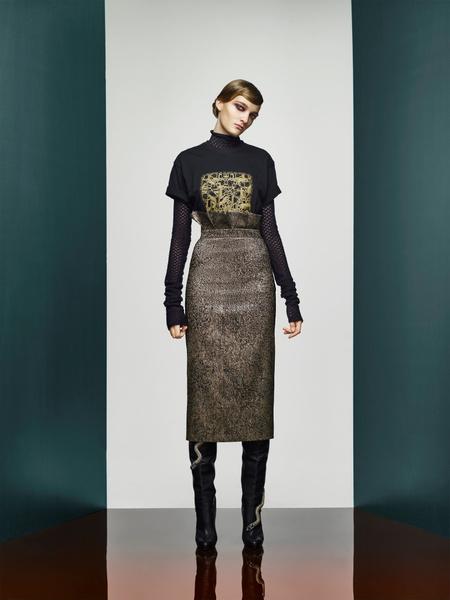 Хозяйка Медной горы: новая pre-fall коллекция A LA RUSSE Anastasia Romantsova | галерея [2] фото [24]