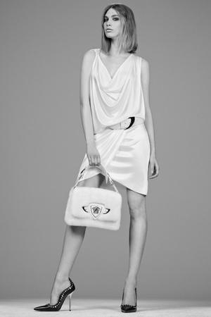 Показ Versace коллекции сезона Pre-fall   2014 года Prêt-à-porter - www.elle.ru - Подиум - фото 573401