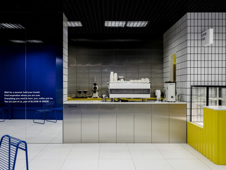 Новая кофейня Bloom-n-Brew от российской студии Asketik (фото 0)