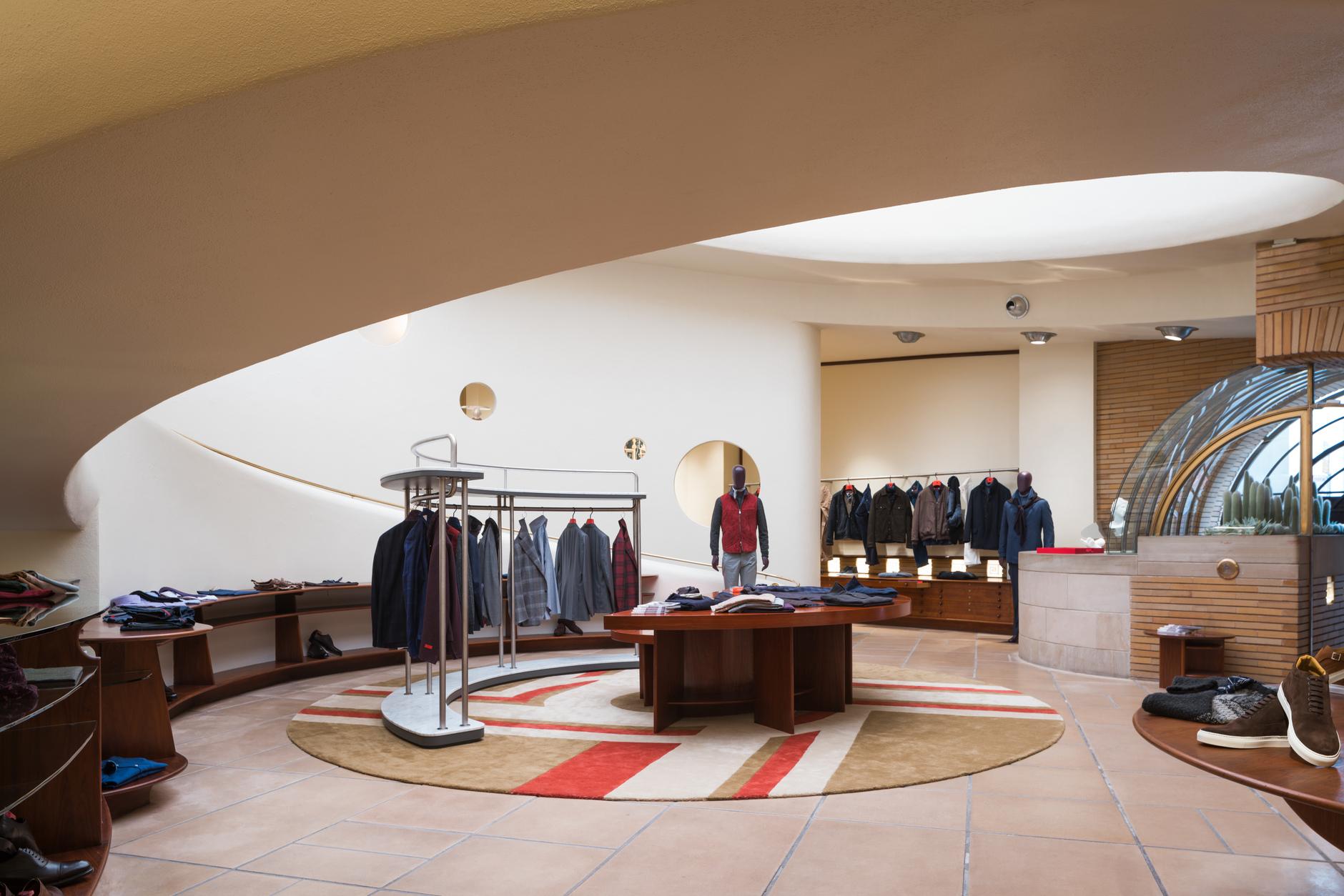 Мода и архитектура: бутик Isaia в здании Фрэнка Ллойда Райта (галерея 4, фото 4)