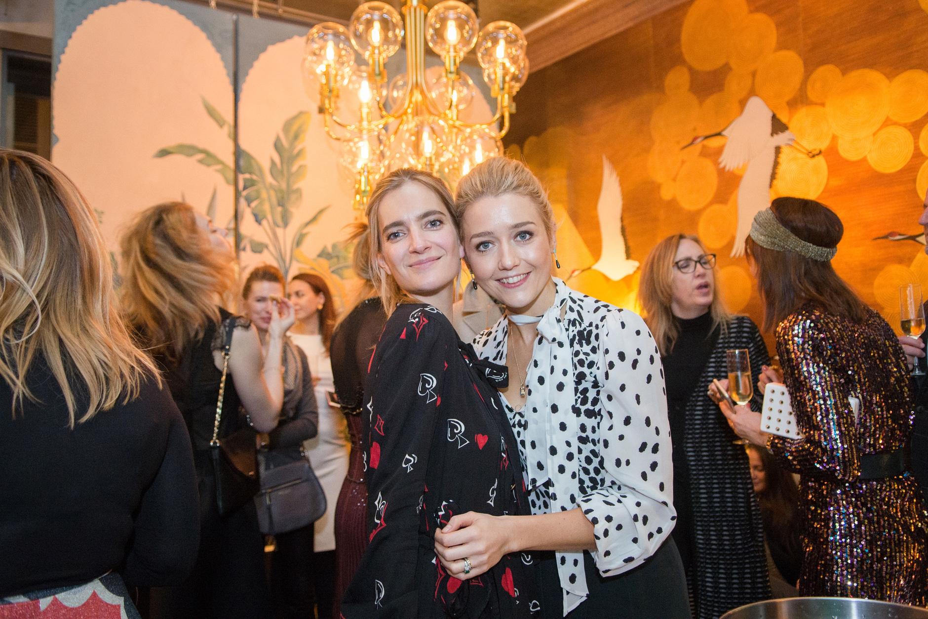 Вечеринка ELLE Decoration и de Gournay в Париже (галерея 0, фото 6)