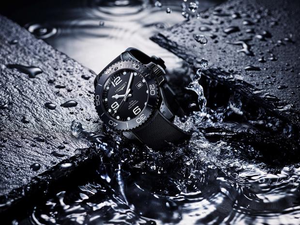 Longines представили часы, полностью выполненные из черной керамики (фото 3)