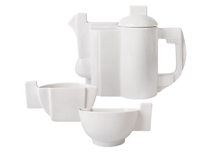 Чайный комплект Малевича, Императорский фарфоровый завод, www.ipm.ru