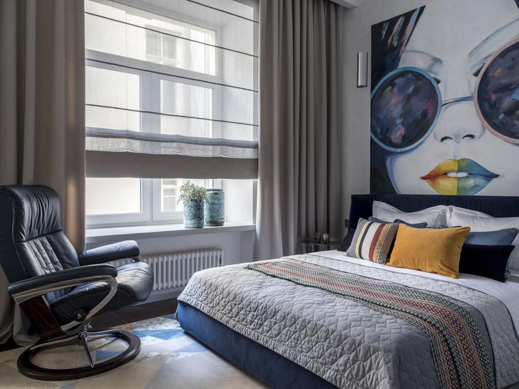 Лофт и ар-деко: квартира 124 м² в Москве (фото 12)