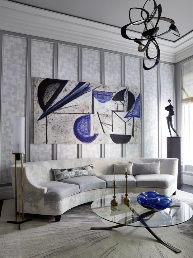 Дом на Манхэттене по дизайну Жан-Луи Деньо (фото 2)