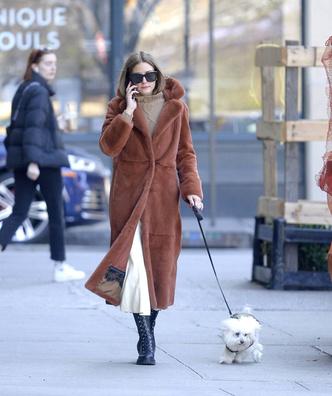 Носите меховое пальто до конца марта, как это делает Оливия Палермо (фото 1.1)