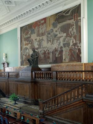 Закончилась реставрация главного читального зала РГБ (фото 2)